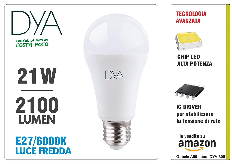 Bombilla A60 LED de 21 W, E27, 2100 lúmenes y luz fría (6000 ...