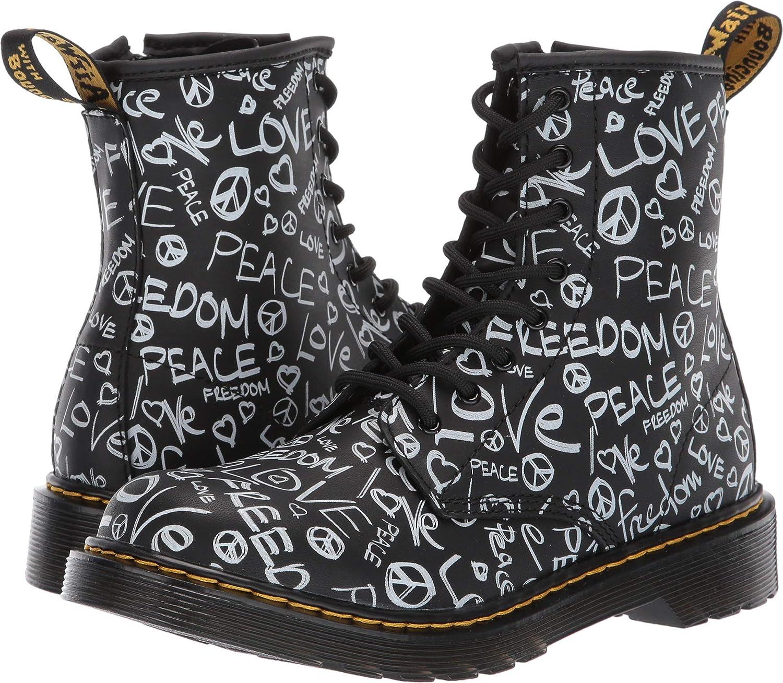 Big Kid Martens Kids Collection Unisex 1460 Script Delaney Boot Dr