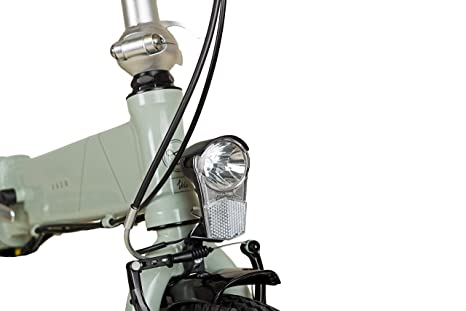 20zoll bicicleta plegable para E-Bike bicicleta vaun Egon gris: Amazon.es: Deportes y aire libre