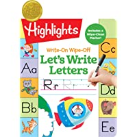 Write-On Wipe-Off Let's Write Letters (Highlights™ Write-On Wipe-Off Fun to Learn Activity Books)
