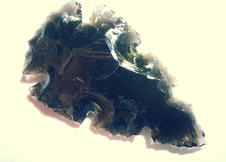 Gekerbte Pfeilspitze 5-6cm aus Achat
