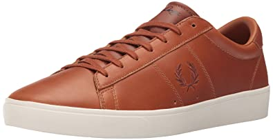 ff5b5025d8f18c Amazon.com  Fred Perry Spencer Waxed Leather Sneaker  Shoes