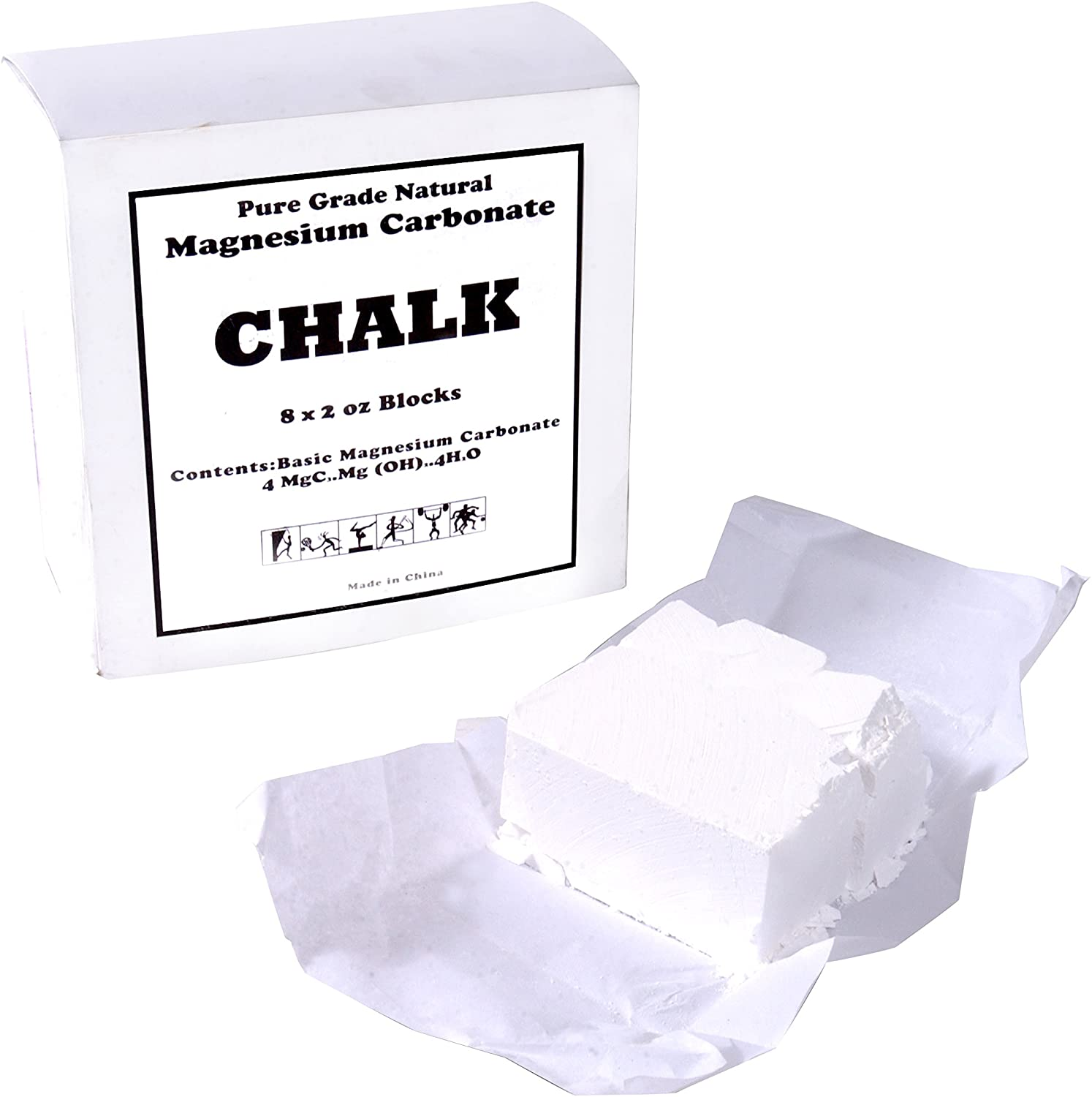 CAP Barbell Gym Chalk, 1 lb : Sports & Outdoors