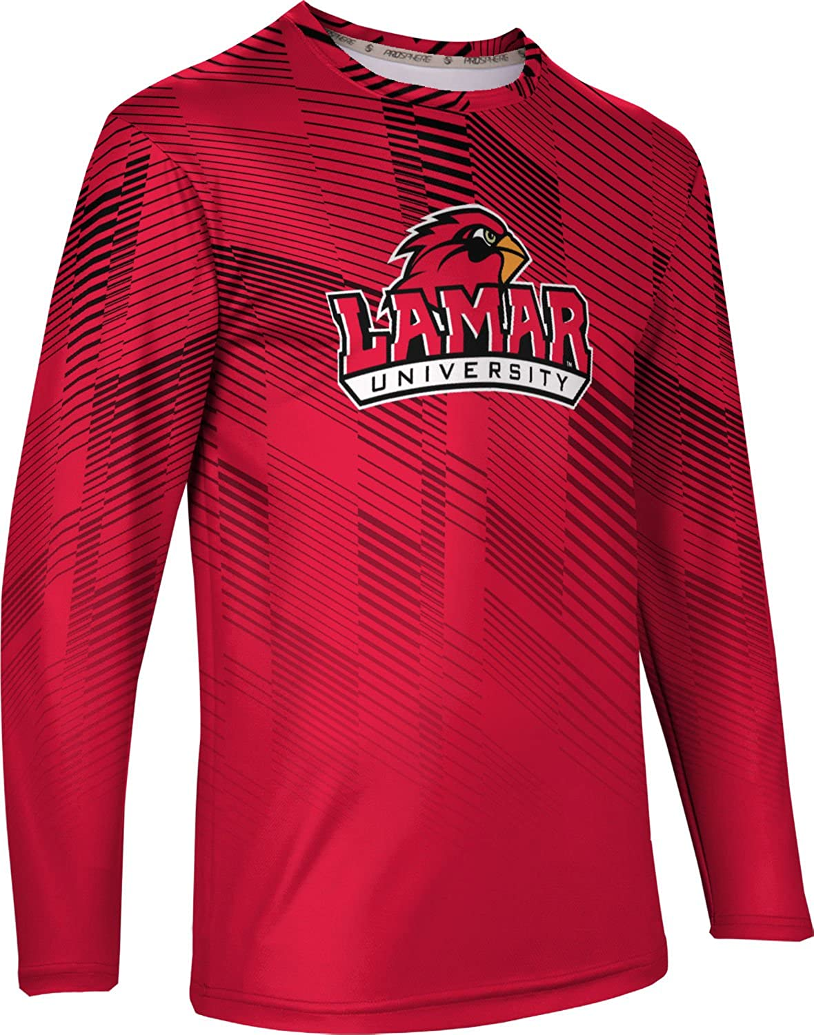 ProSphere Lamar University Mens Long Sleeve Tee Bold