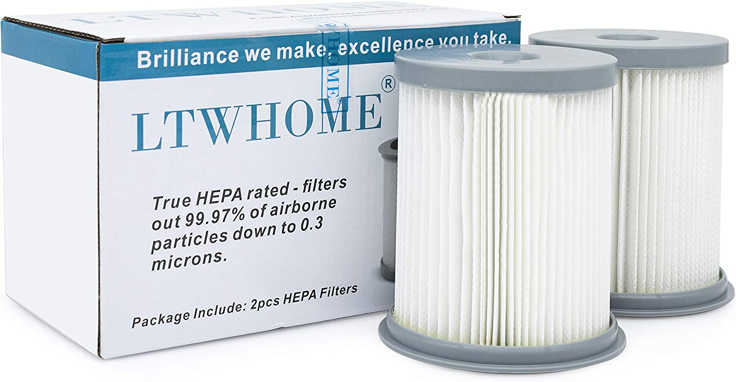 LTWHOME Replacement HEPA Filter 59157055 Fit for Hoover Elite Rewind Upright Vacuum Cleaners, Compares to U5507900, U5507950, U5509900 (Pack of 2)