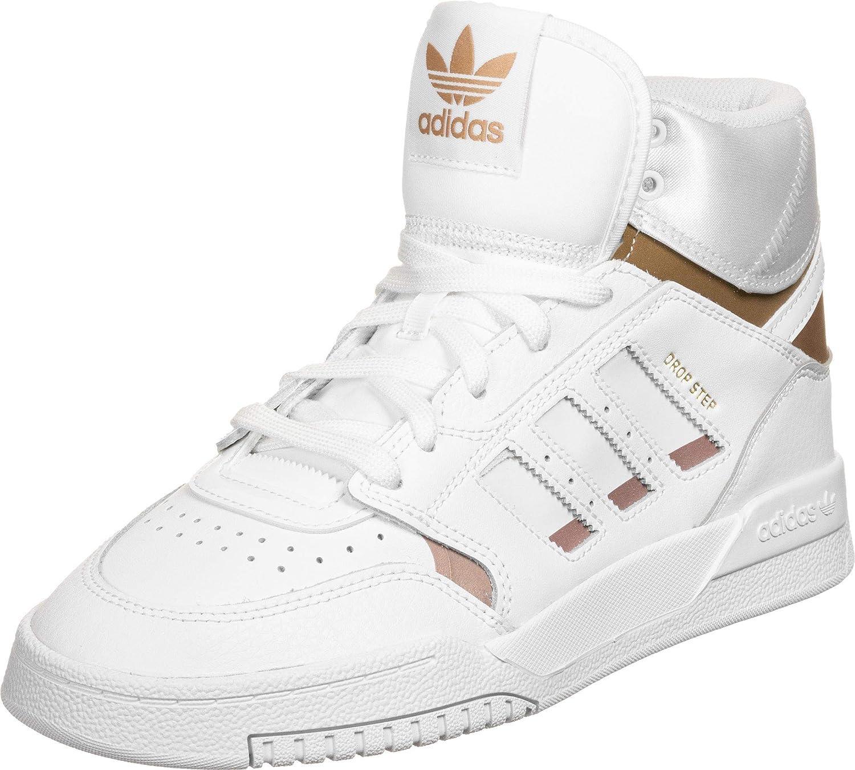 Adidas Originals Drop Step J Zapatillas Moda Chicas Blanco/Oro Zapatillas Altas Shoes: Amazon.es: Zapatos y complementos