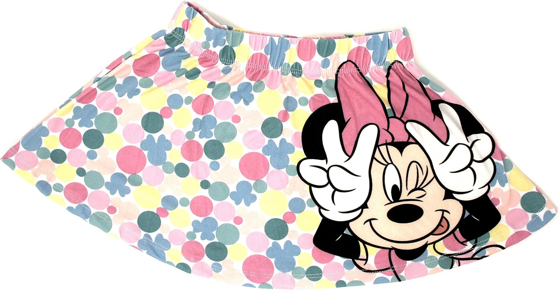 Disney Minnie Mouse Falda, Multicolor - 122/7 años: Amazon.es ...