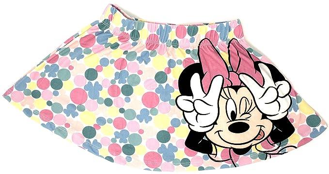 1b081a57d Disney Minnie Mouse Falda, Multicolor - 122/7 años: Amazon.es: Ropa ...