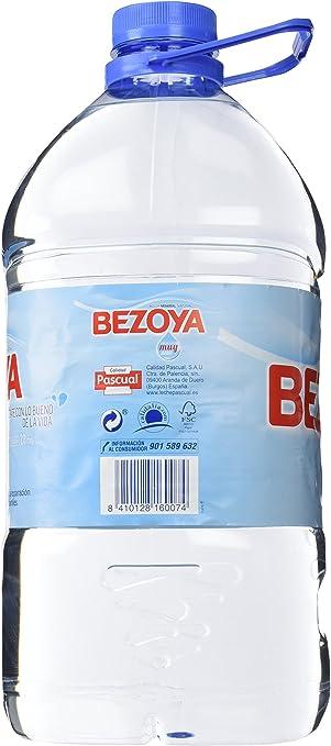 Bezoya - Agua Mineral Natural - Garrafa 5 L: Amazon.es ...