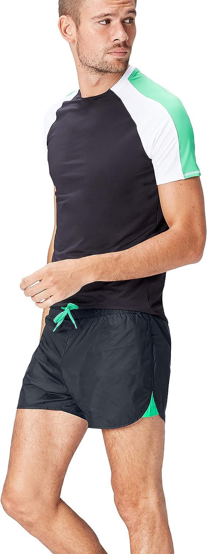 Marca Amazon - Activewear Pantalones Cortos de Deporte para Hombre