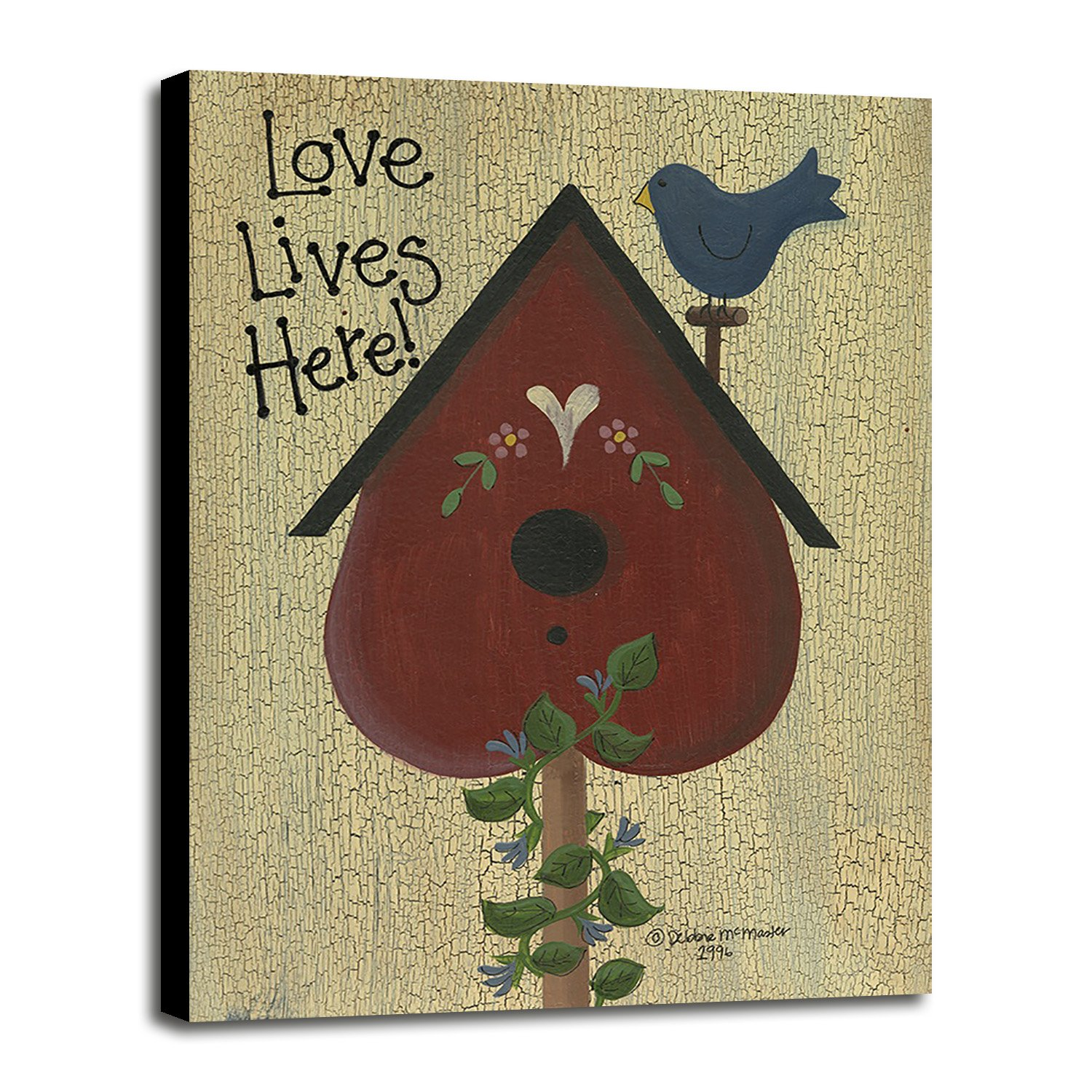 Love Lives Here! Framed Print 34.29''x25.00'' by Debbie McMaster