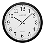 Amazon Price History for:La Crosse Technology WT-3143A-INT 14-Inch Atomic Wall Clock, Black