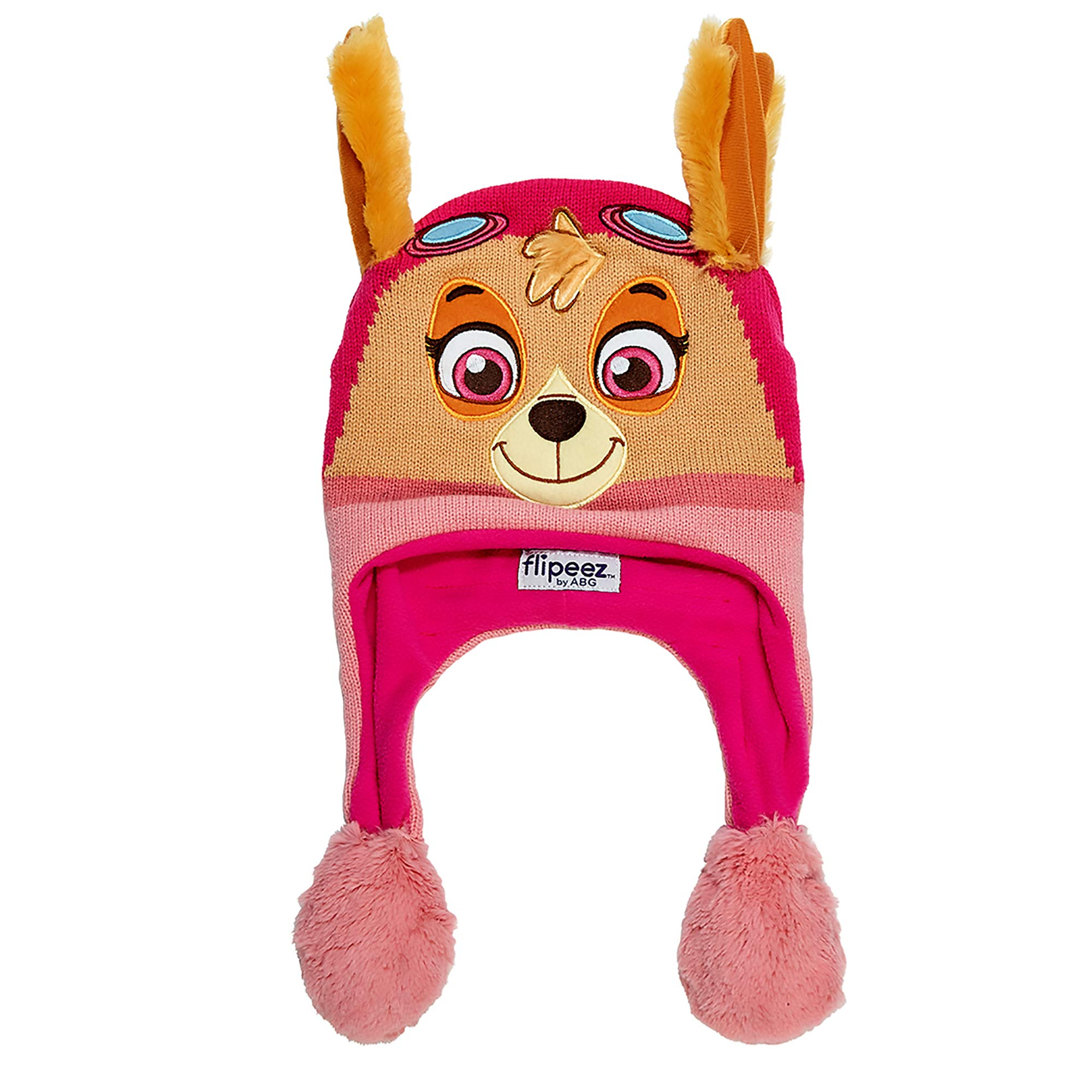 Little Girls Hasbro My Little Pony Squeeze and Flap Fun Cold Weather Hat 4-7