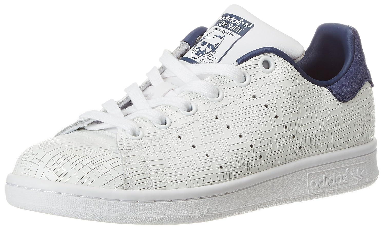 adidas Damen Stan Smith Fitnessschuhe Weiß(Ftwbla/Ftwbla/Indnob 000)