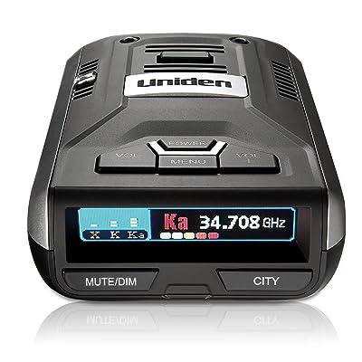 Uniden R1 Extreme Long Range Radar Laser Detector 360 Degree, DSP, Voice Alert Silver: Electronics