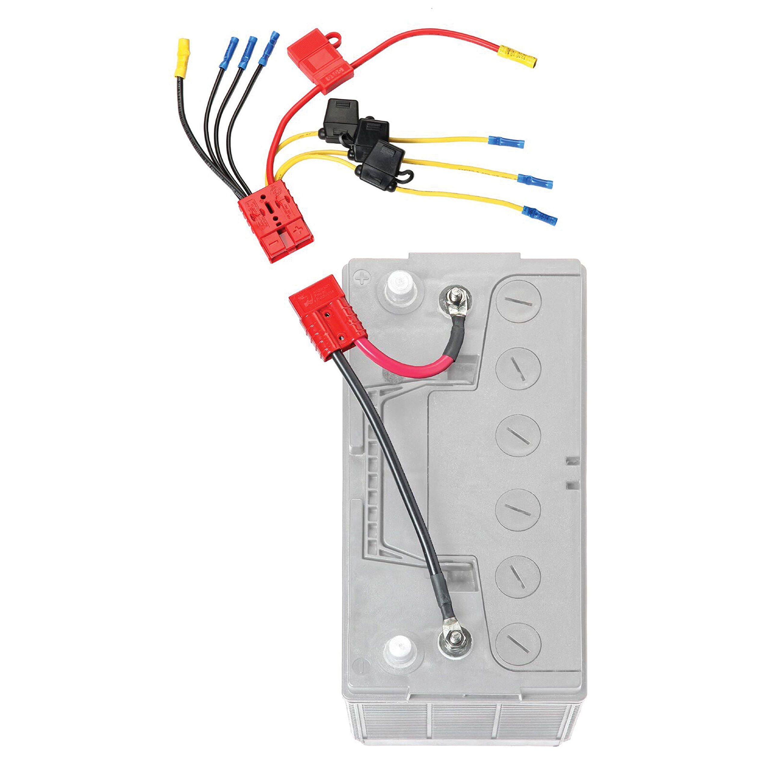 Connect-Ease RCE12VB4FK Easy 4 Lead Fused Device Connection Kit-Clam Pack