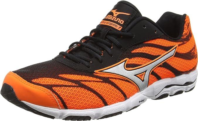 Mizuno Wave Hitogami 3, Zapatillas de Running para Hombre, Naranja (clownfish/silver/black), 40 EU (6.5 UK): Amazon.es: Zapatos y complementos
