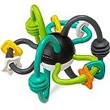 Infantino - Shake & Teethe Flexible Rattle Ball, Assorted Colors