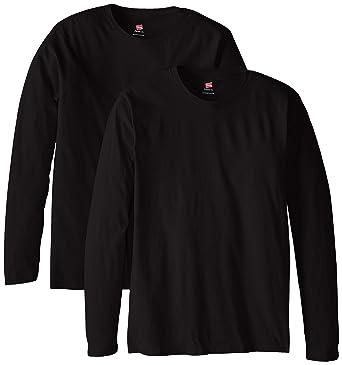 Hanes Men's Long-Sleeve Premium T-Shirt (Pack of 2) at Amazon ...