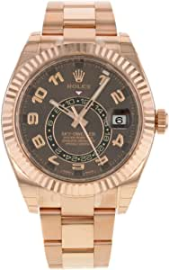 Rolex New Sky-Dweller Everose 326935 Engraved 2019 Box/Paper/5YrWarranty #RL120