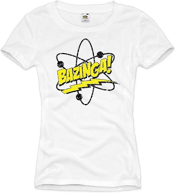 style3 Bazinga T-Shirt Homme The Big Bang Theory Sheldon TBBT