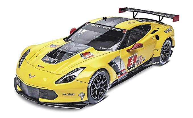 Amazon Revell Corvette C7r Plastic Model Kit Toys Games