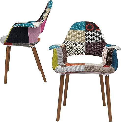 Tribeca Organic Arm Chair Patchwork