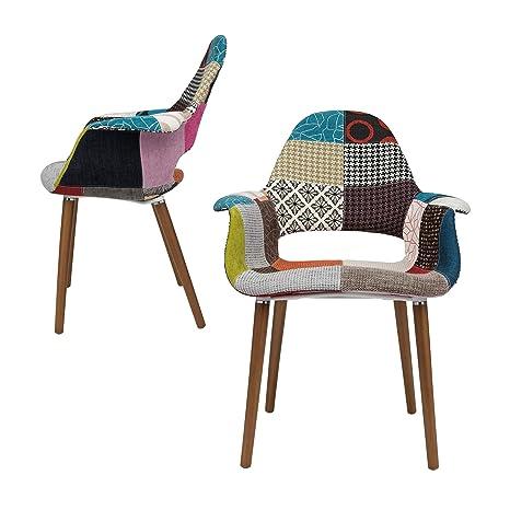 Amazon.com: Tribeca sillón orgánico, Retazos ...