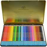 Fantasia Premium Watercolor Pencils 36 Pc Tin, High Color Concentration