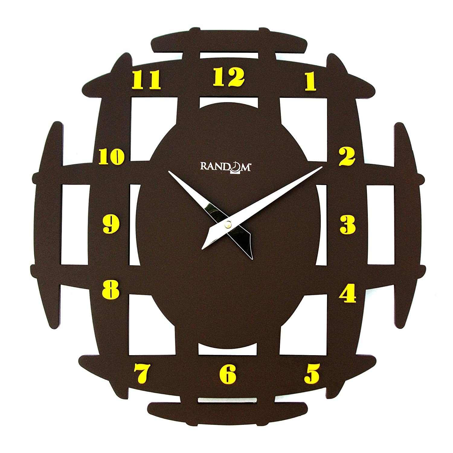 Buy Random Ancient Wooden Wall Clock Brown Online At Low Prices In