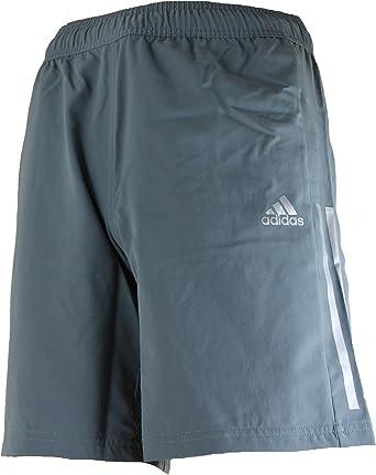 Adidas Clima365 Pantalon Corto Para Hombre Color Gris Amazon Es Deportes Y Aire Libre