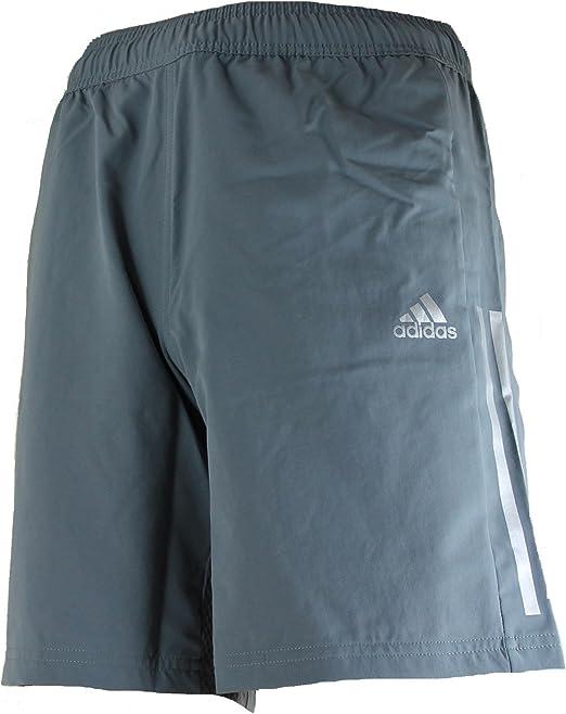 adidas Cool365 - Pantalón corto para hombre, gris, small: Amazon.es: Deportes y aire libre