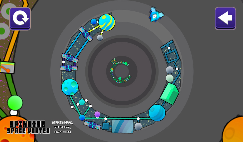 Spinning Space Vortex - A Hard Casual Arcade Game: Amazon.es ...