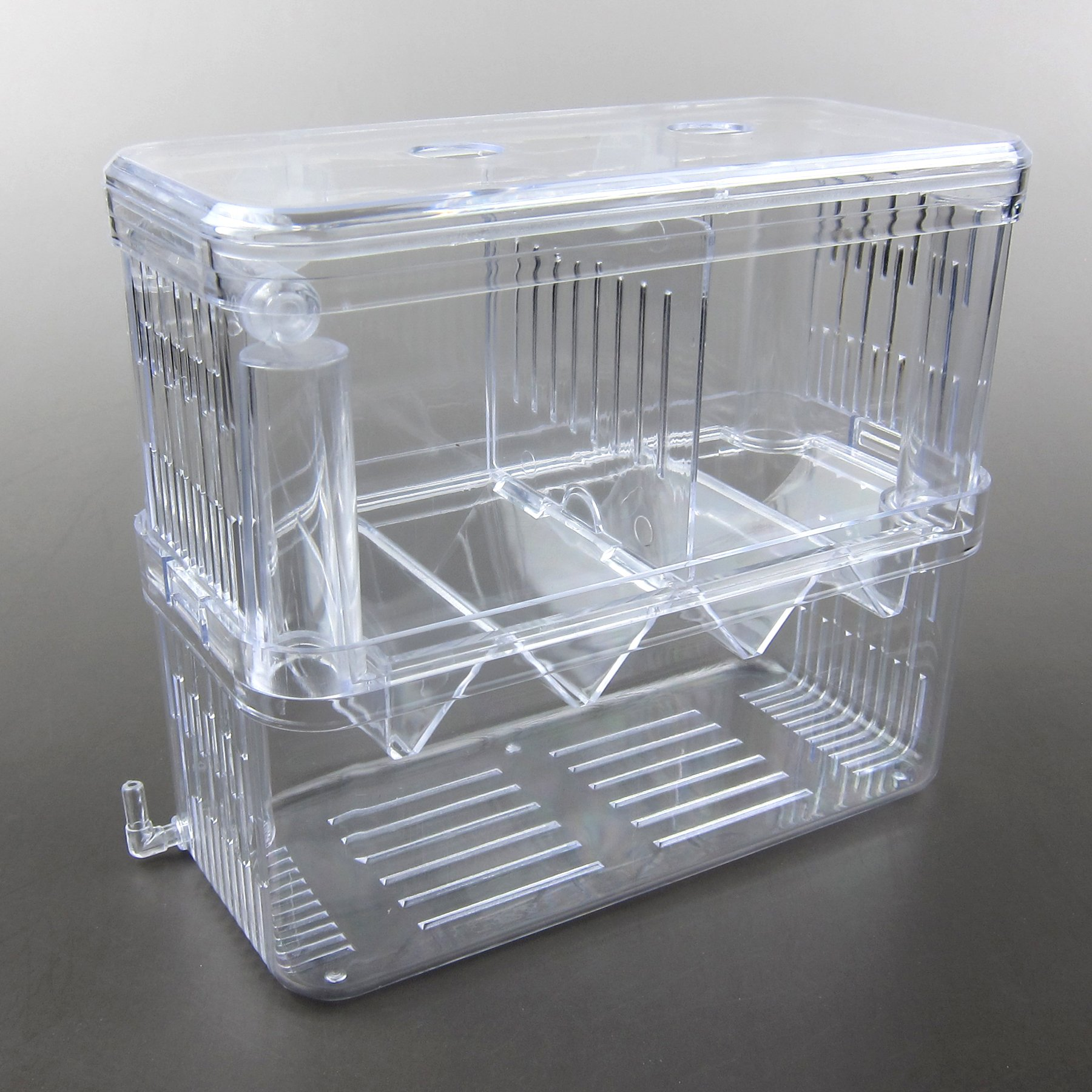 Alfie Pet by Petoga Couture - Kaia Hang-on Nursery Fish Tank with Isolation Breeding Hatchery