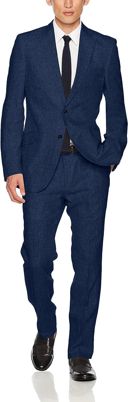 Kroon Men's Aim Active Inspired Movement Linen Suit with Flex Lining