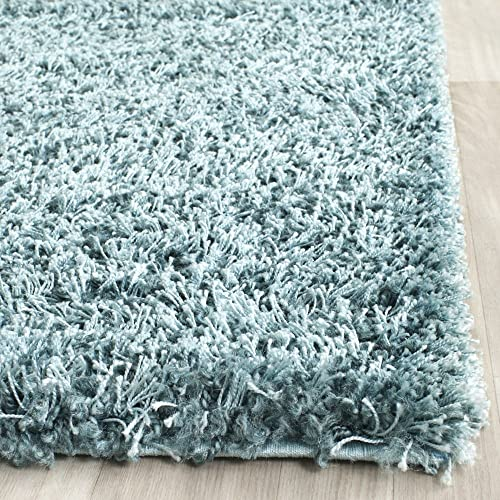 Safavieh New York Shag Collection SG165-5858 1.18-inch Thick Area Rug