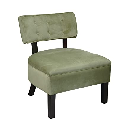 Astonishing Amazon Com Curves Button Chair Spring Green Velvet Kitchen Caraccident5 Cool Chair Designs And Ideas Caraccident5Info