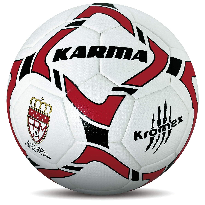 KROMEX Balón Fútbol Karma. Oficial R.F.F.M.: Amazon.es: Deportes y ...