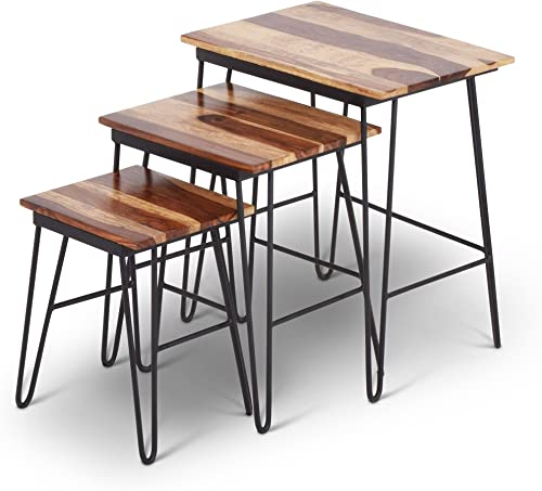 Steve Silver Tristan 3 Piece Nesting Table Set