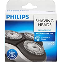 Philips ShaverSeries 3000 Replacement Electric Shaving Head - Fits S3000 (S3xxx), S1000 (S1xxx) & Star Wars Shaver…