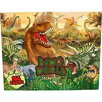 Depesche 4467–Libro para Colorear stickerfun Dino World