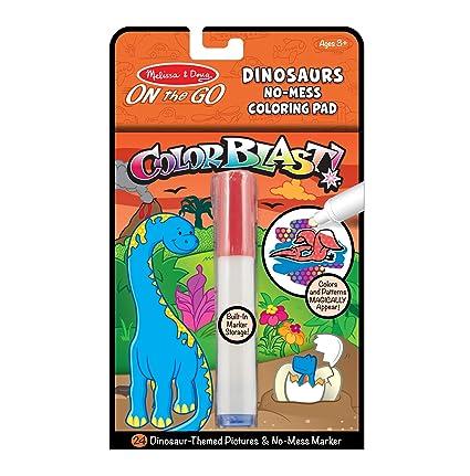 Amazon.com: Melissa & Doug On the Go ColorBlast! Travel Activity ...