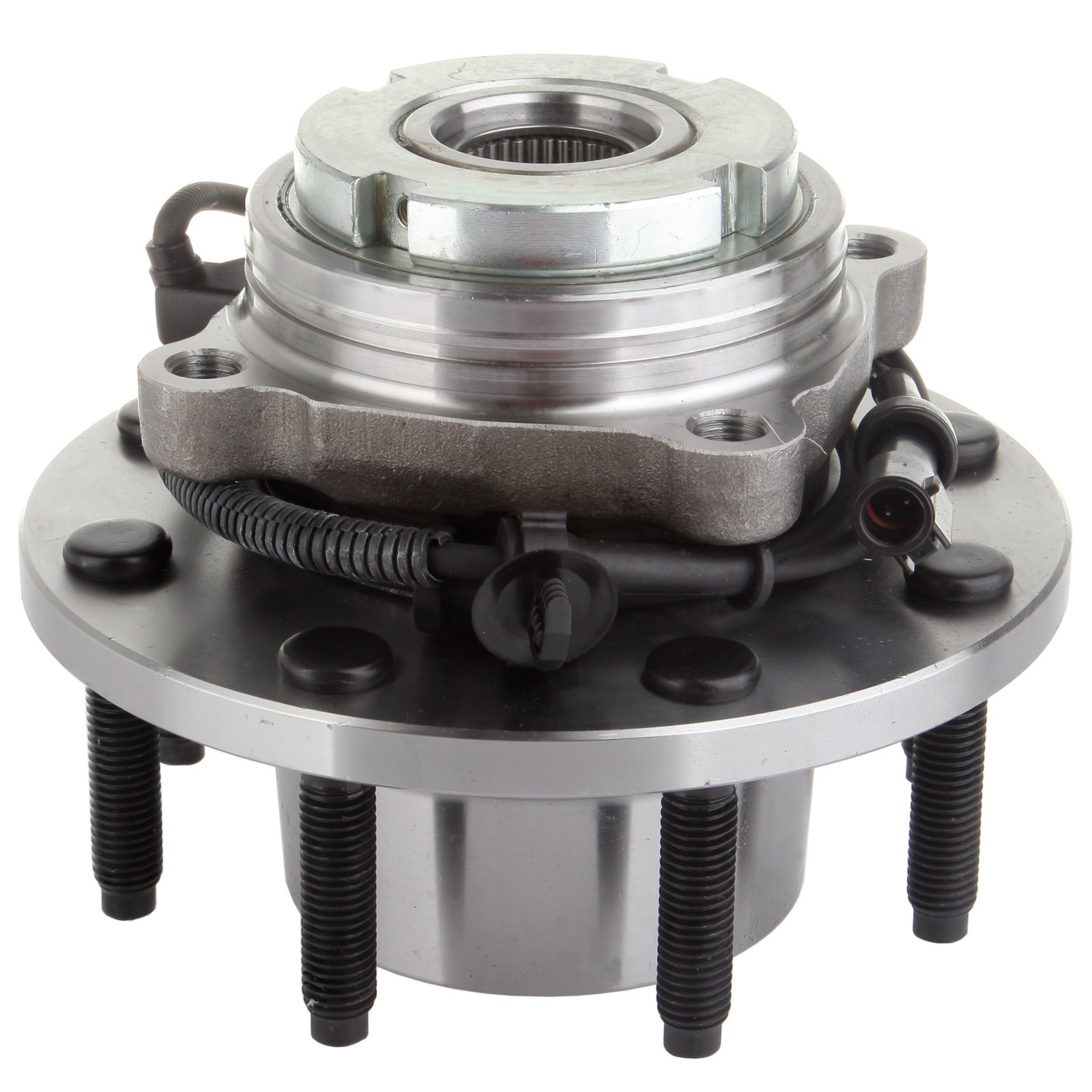 Front 515020 Wheel Hub Bearing Assembly for 1994-2004 Ford 8 Lugs W/ABS ECCPP