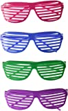 Rhode Island Novelty 24 Pairs of 80's Sunglasses Party Favors