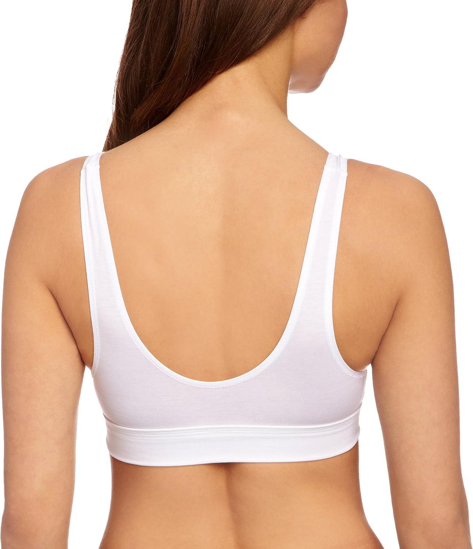 Blanc ou Peau Sloggi Womens Double Confort Coton Rich Non Wired Soutien-Gorge 10022574 Noir