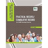 PV PRACTICAL RECORD/CUMMULATIVE RECORD BOOK FOR GNM NURSING COURSE