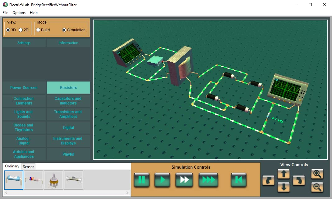 ElectricVLab : 3D Digital Lab for Electrical energy & Electronics [Download]