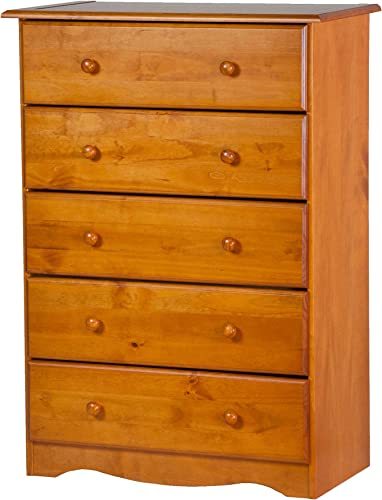 100 Solid Wood 5-Drawer Chest