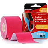 Kinesiology Tape Kinesio Strapping Taping Athletic Sports Tape For Men Knee Shoulder Elbow Ankle Neck Muscle Superior Waterproof Adhesion Non Latex Safe For Kids Pregnant Women