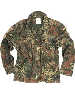e4ab04d60b66f German Military Genuine Vintage Flecktarn Shirt/Lightweight Jacket